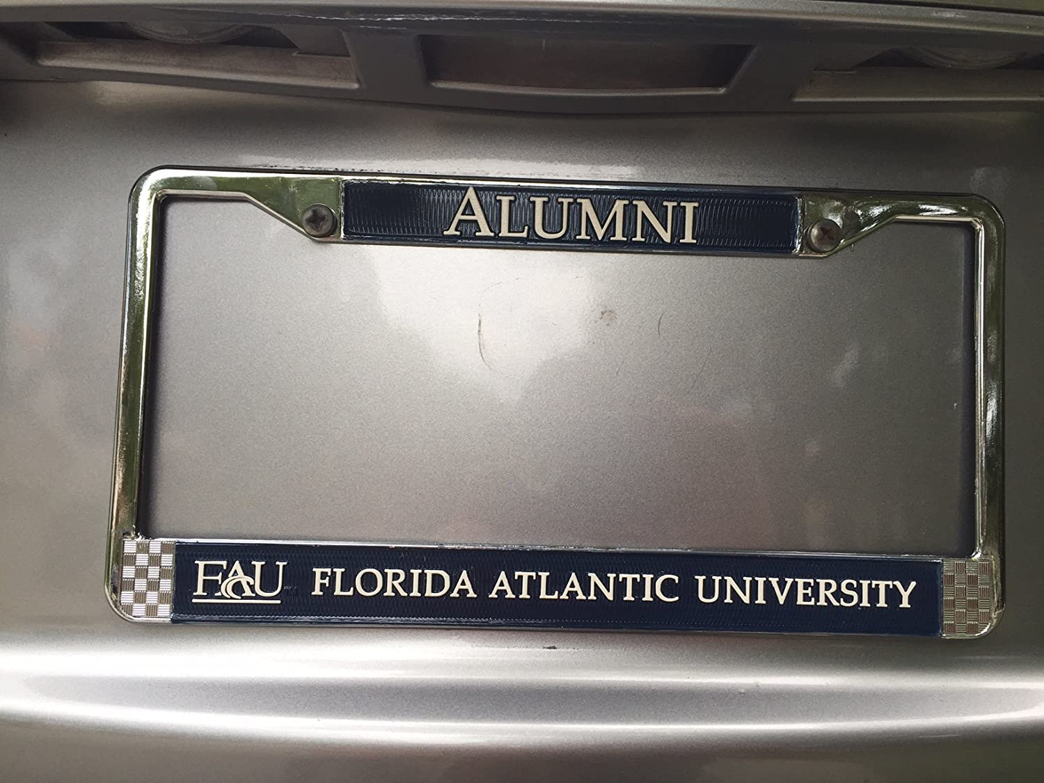 Amazon.com: Florida Atlantic University Alumni License Plate Frame ...