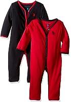 U.S. Polo Assn. Baby Boys'' 2 Pack Sleep 'N Play Set