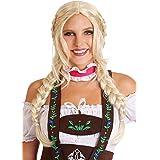 Blonde Braided Wig Swedish Girl Inga Halloween Costume Accessory