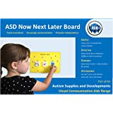 Plastic Visual ASD Now, Next and Later Board (Picture Communication Symbols)