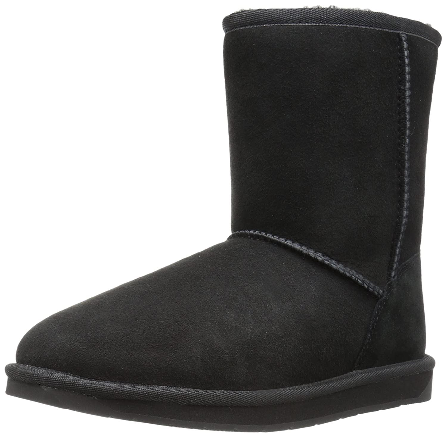 206 Collective Women's Balcom Short Back-Zip Shearling Ankle Boot B0746MHVBV 11 B(M) US|Black Suede