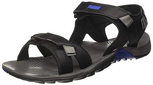 Descriptivo Ingresos espada  Puma Men's Force Idp Dark Shadow Black Thong Sandals: Buy Online at Low  Prices in India - Amazon.in