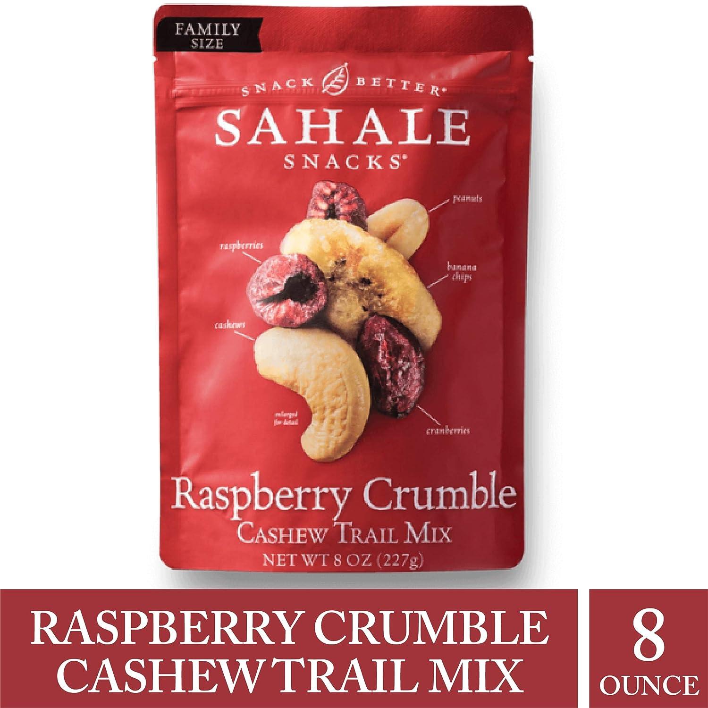 Sahale Snacks Raspberry Crumble Nut Mix, 8 Ounces