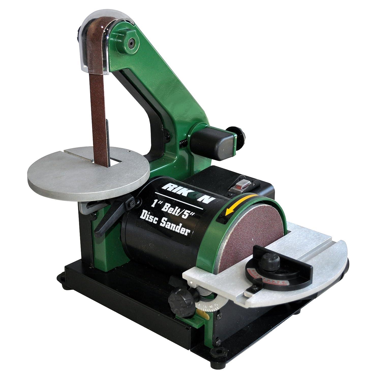 rikon belt sander. rikon 50-150 belt/disc sander, 1-inch by 30-inch - power combination disc and belt sanders amazon.com sander