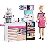 Barbie Careers Cafeteria com Acessórios, Mattel