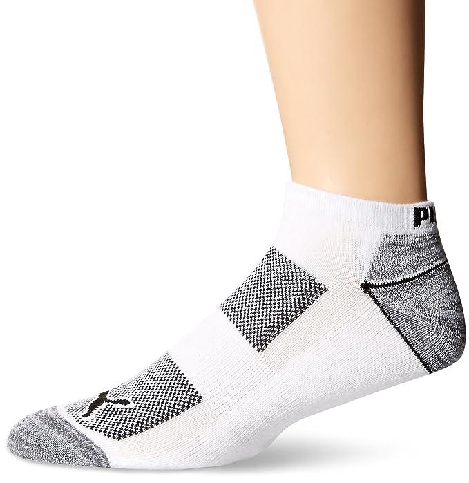 Puma 6-Pack Coolcell Low Cut calcetines punta blanca / negra tama?o 10-13: Amazon.es: Ropa y accesorios