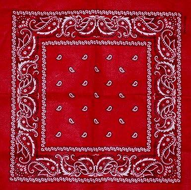 Bandana With Original Paisley Pattern In Dark Red 40Store Simple Bandana Pattern