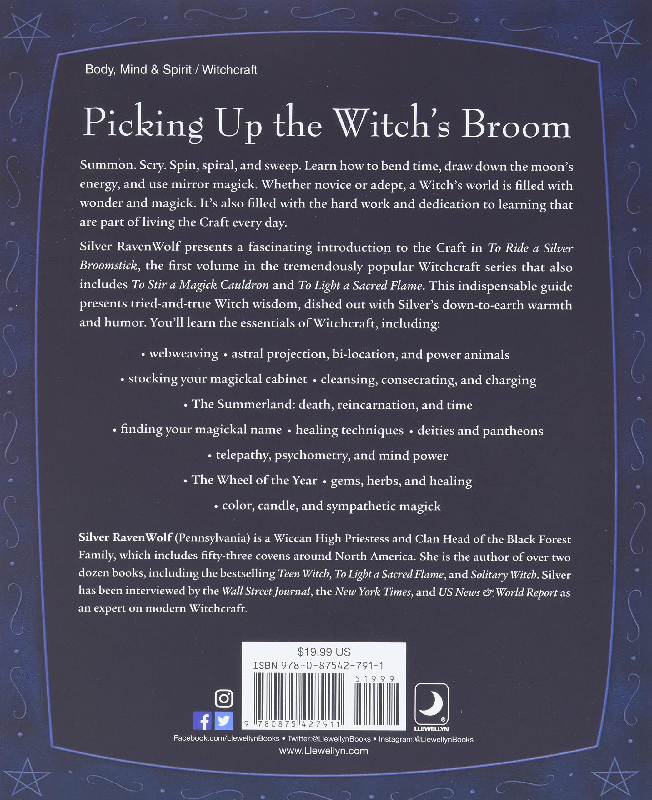 Amazon.com To Ride A Silver Broomstick   Witchcraft de nueva ...
