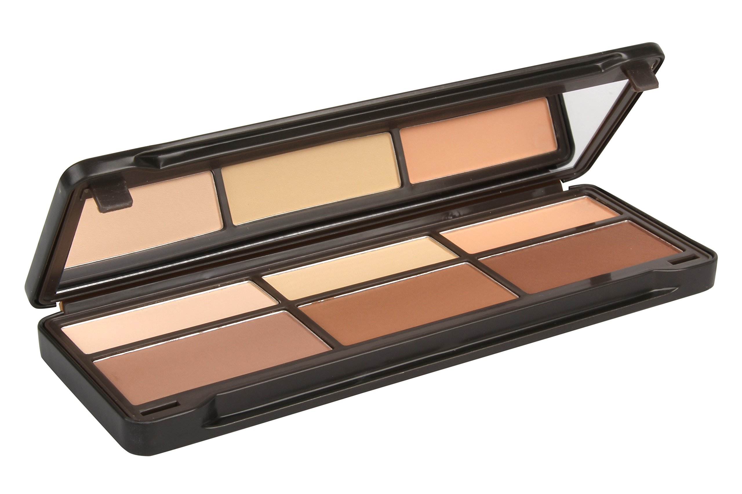 BYS Contour Palette (3x Contouring Powder, 3x Highlighting Powder) by BYS (Image #4)