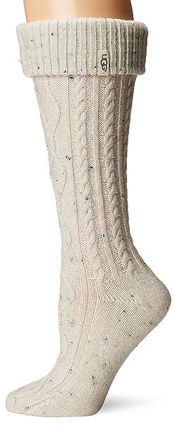 UGG Calcetines altos de lluvia para mujeres Shaye Tall de Australia (crema, tama?