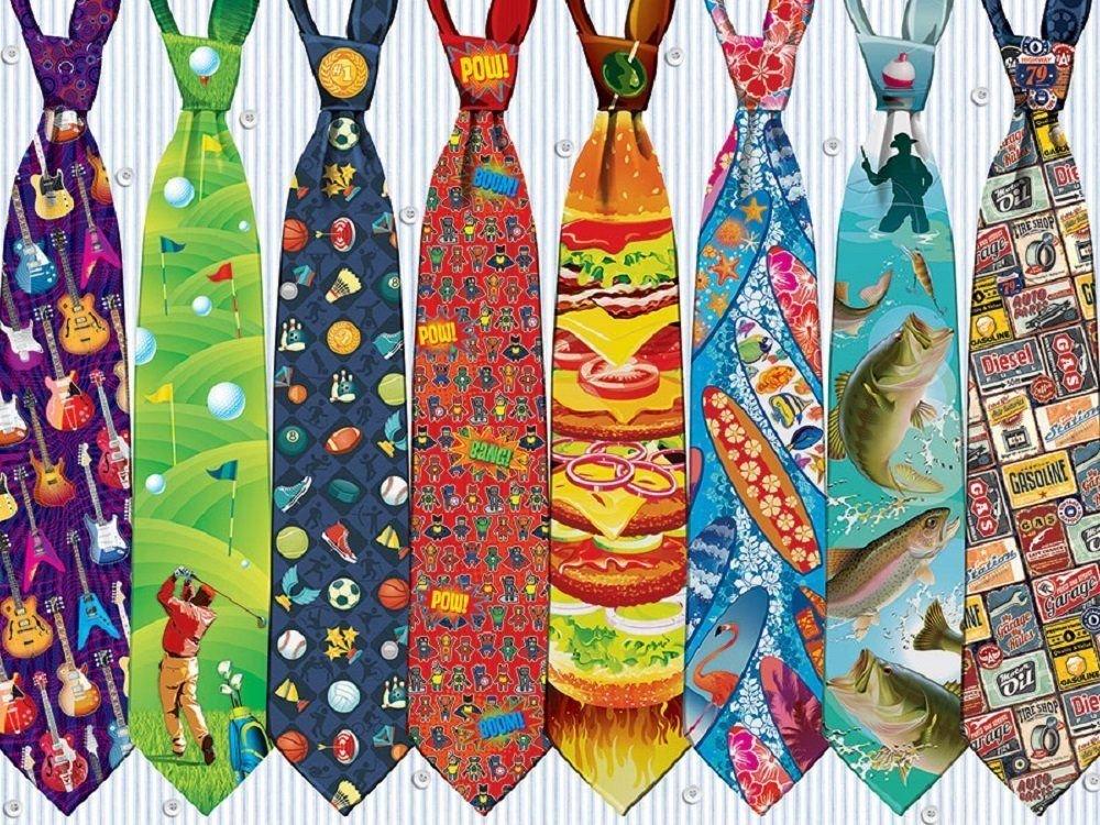 Cobble Hill 52097 - Vater's Krawatten - 500 Teile Puzzle