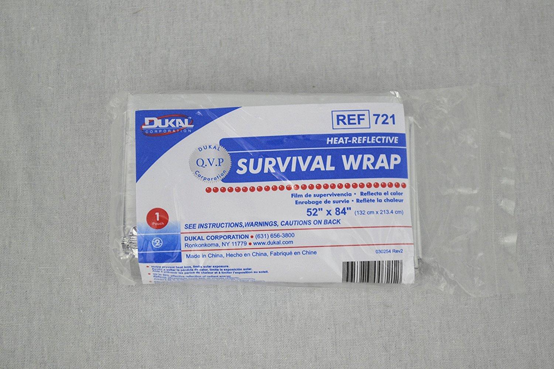 Heat Reflective Emergency Blanket/Survival Blanket - Pack of 3