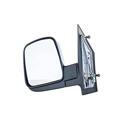 Driver Side Mirror for Chevy Express, GMC Savana (03 04 05 06 07 08 09 10 11 12 13 14 15 16 17) Textured Non-Heated Folding Left Outside Rear View Replacement Door Mirror - GM1320284: Automotive