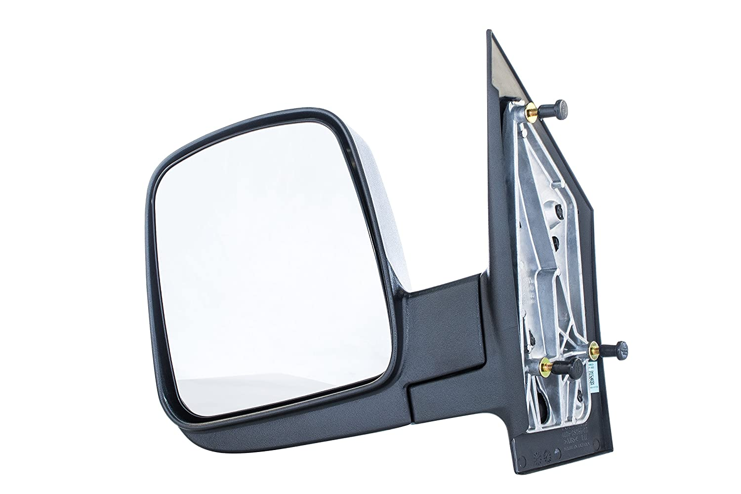 Driver Side Mirror for Chevy Express, GMC Savana (2003 2004 2005 2006 2007 2008 2009 2010 2011 2012 2013 2014 2015 2016 2017) Textured Non-Heated Folding Left Outside Rear View Replacement Door Mirror Dependable Direct