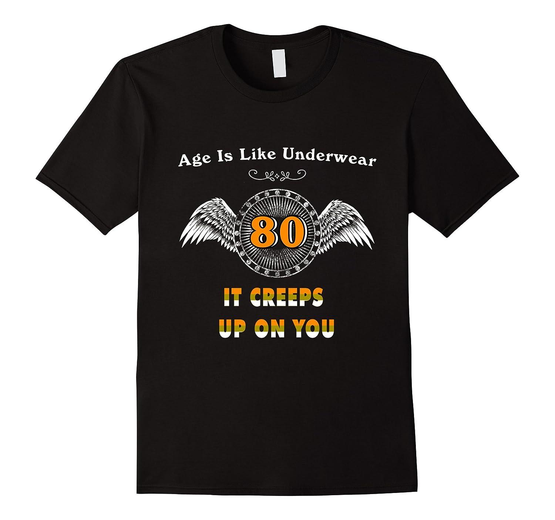 Gift For 80th Birthday T Shirts Men Turning 80 PL