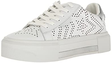 6ccf003c1 KENDALL + KYLIE Women's Tyler Sneaker, White, 6.5 Medium US