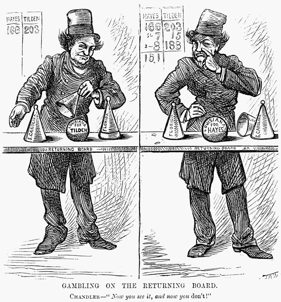 Amazon.com: Presidential Campaign 1876 Ncontemporary American Newspaper  Cartoon Attacking William Eaton Chandler Who Directed Republican Tactics In  The Rutherford B Hayes And Samuel J Tilden Election In Which Twe: Posters &  Prints