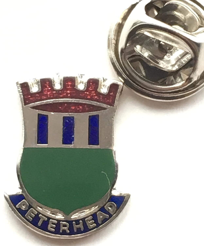 Peterhead Scotland Small Enamel Lapel Pin Badge T067