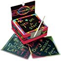 Melissa & Doug Scratch Art Box of Rainbow Mini Notes