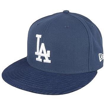 188d3ba036b New Era 59FIFTY Flock Vize LA Dodgers Cap - 7 5 8 (60.6 cm)  Amazon ...
