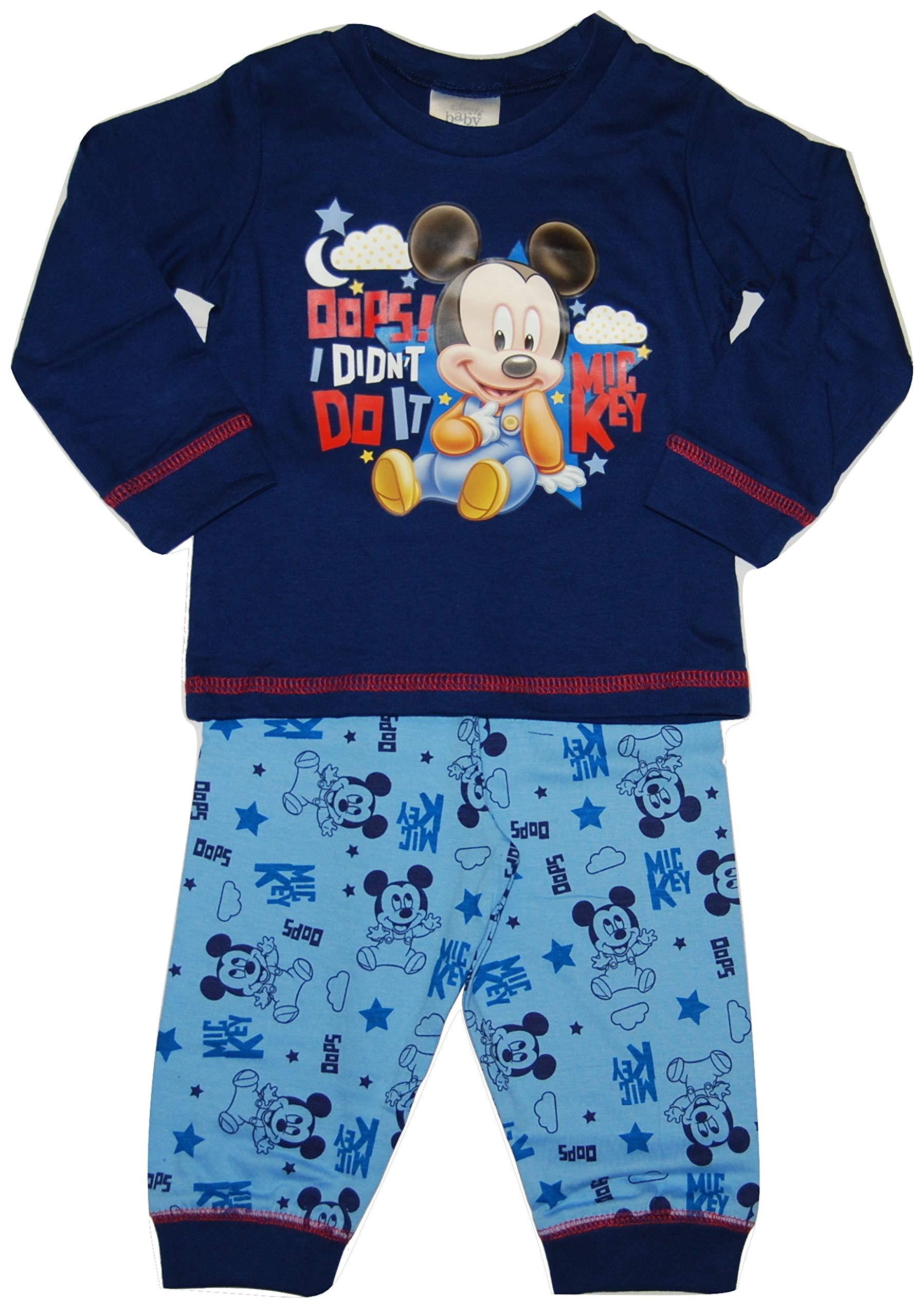 Disney Baby Boy Mickey Mouse Pyjamas
