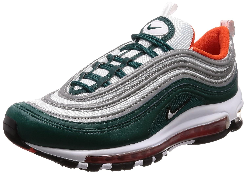 MultiCouleure (Rainforest blanc Team Orange noir 300) Nike Air Max 97, Chaussures de Running Compétition Homme 42 EU