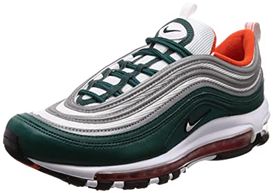Nike Men's Air Max 97 Gymnastics Shoes, Green (RainforestWhiteTeam OrangeBlack 300), 6 UK