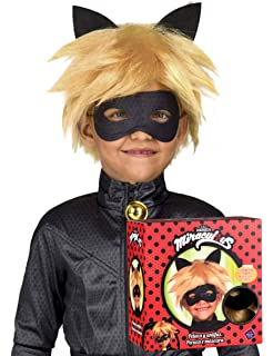 viving costumes Disfraz de Cat Noir niño Talla 4a5 años: Amazon.es ...