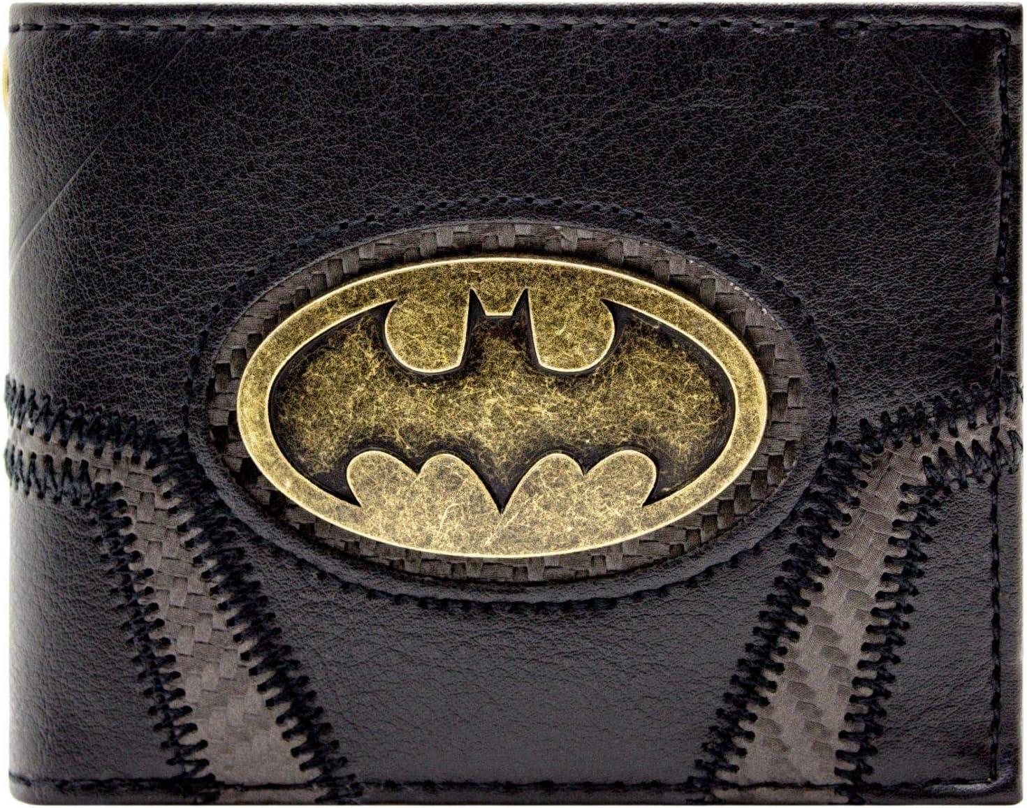 UWear Batman Backpack Gold Logo Comics Bags