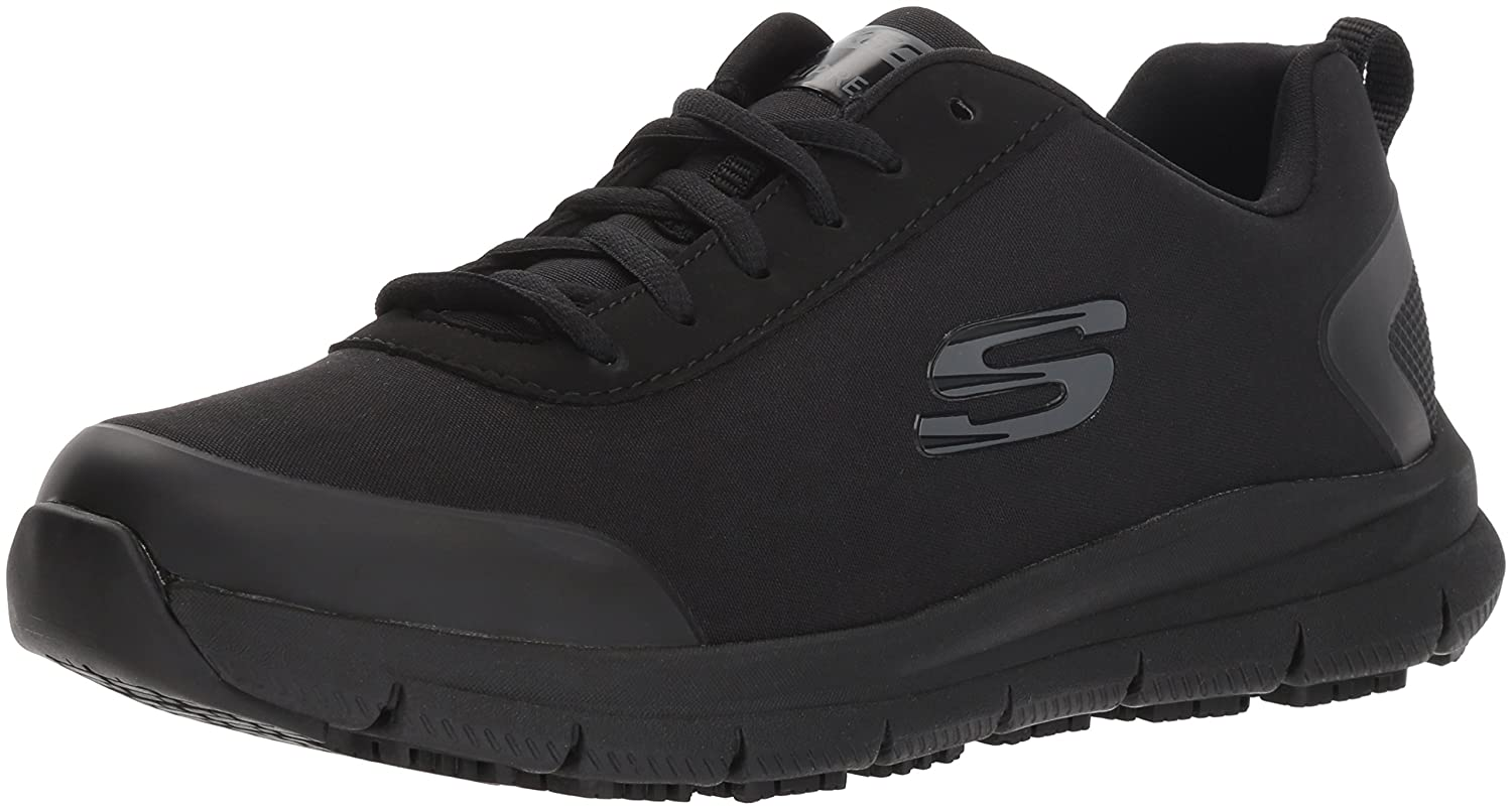 Skechers Women's Comfort Flex HC Pro SR Health Care Service Shoe B078Z1BSXH 8 B(M) US|Black