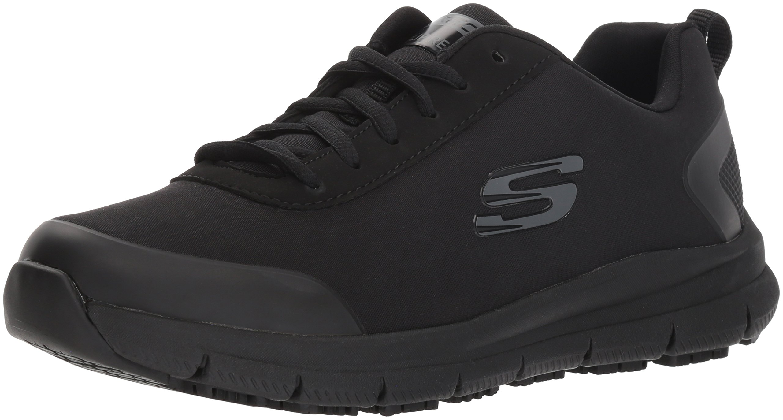 Skechers Women's Comfort Flex Sr Hc Pro Health Care Professional Shoe,Black,9.5 Medium US
