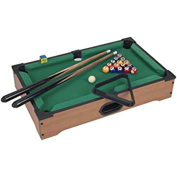 Awesome Mini Pool Table Set For Kids  Portable Indoor And Outdoor Table Top Billiards  Games,