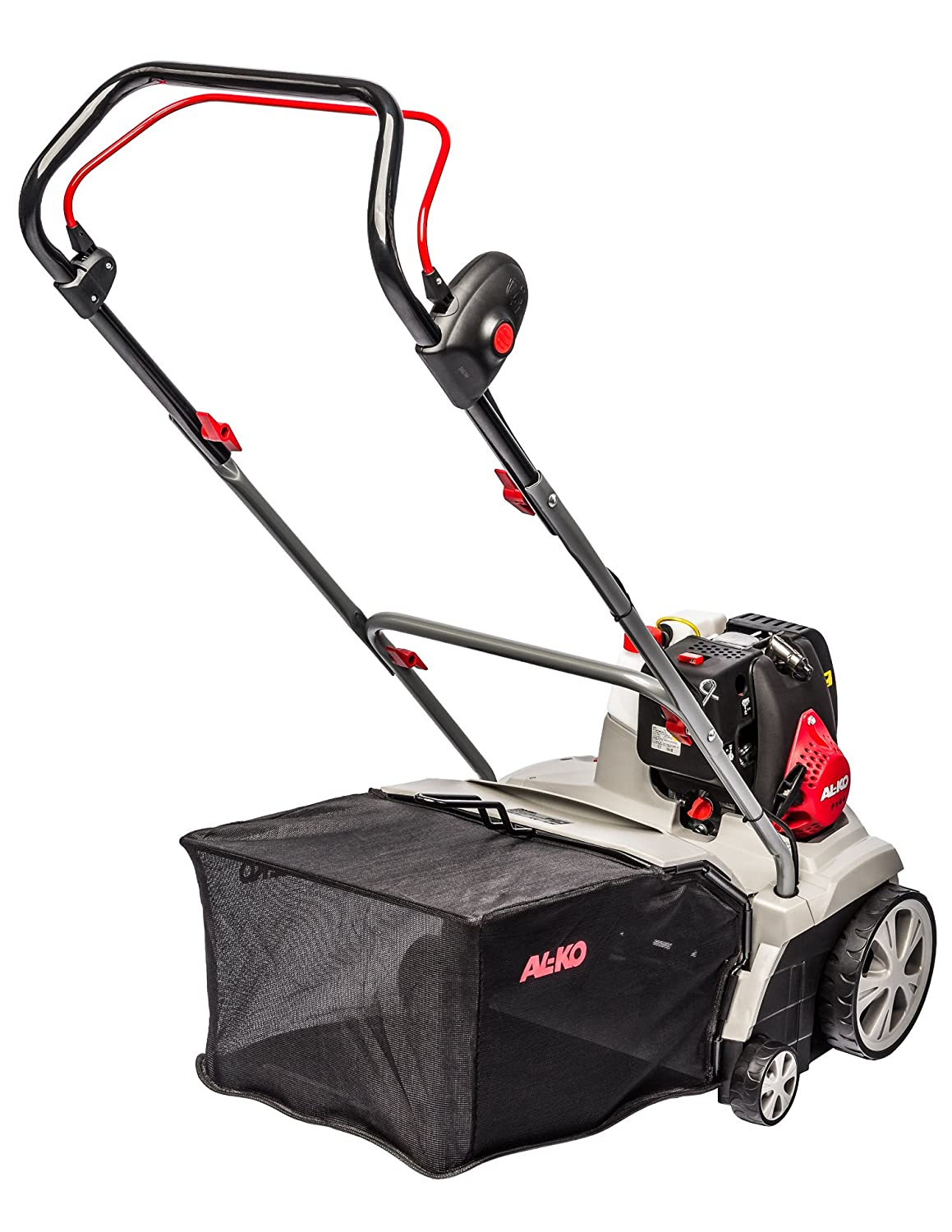AL-KO Combi Care 38 P Comfort - Cortacésped (Manual lawnmower, Rotary blades, 37 cm, 1300W, Gasolina, 20 kg)