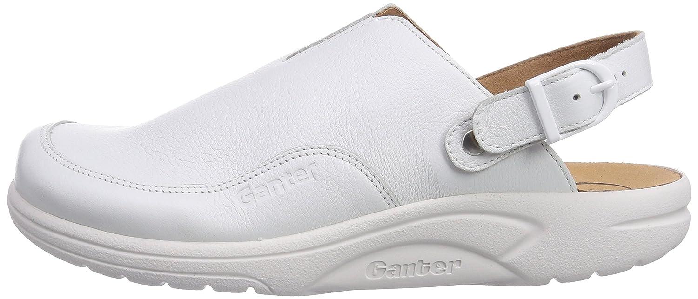 Ganter 1-202337-01000, Sabots femme - Noir - Noir (0100), 39 EU