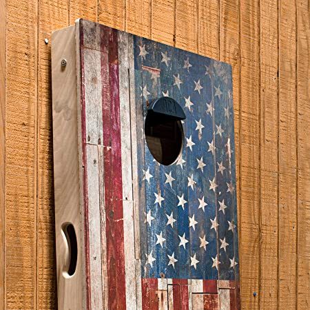 Mounts to Any Cornhole Board bA1 Sports Official Regulation Weatherproof Steel Decal Perfect Tailgate Accessory! Magnetic Cornhole Scoreboard
