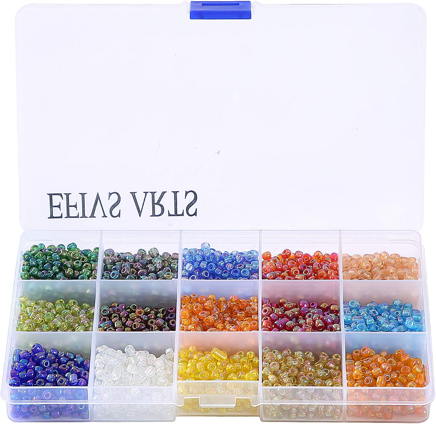 Approximately 1000pcs Efivs Arts Halloween Giant Crayon Beads,Barrel Pony Beads Big Spcaer Beads for for Halloween DIY Jewelry Making 6 x 9 mm