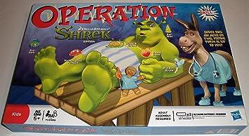 Hasbro Operación Shrek Edition - Juego de mesa [importado de ...