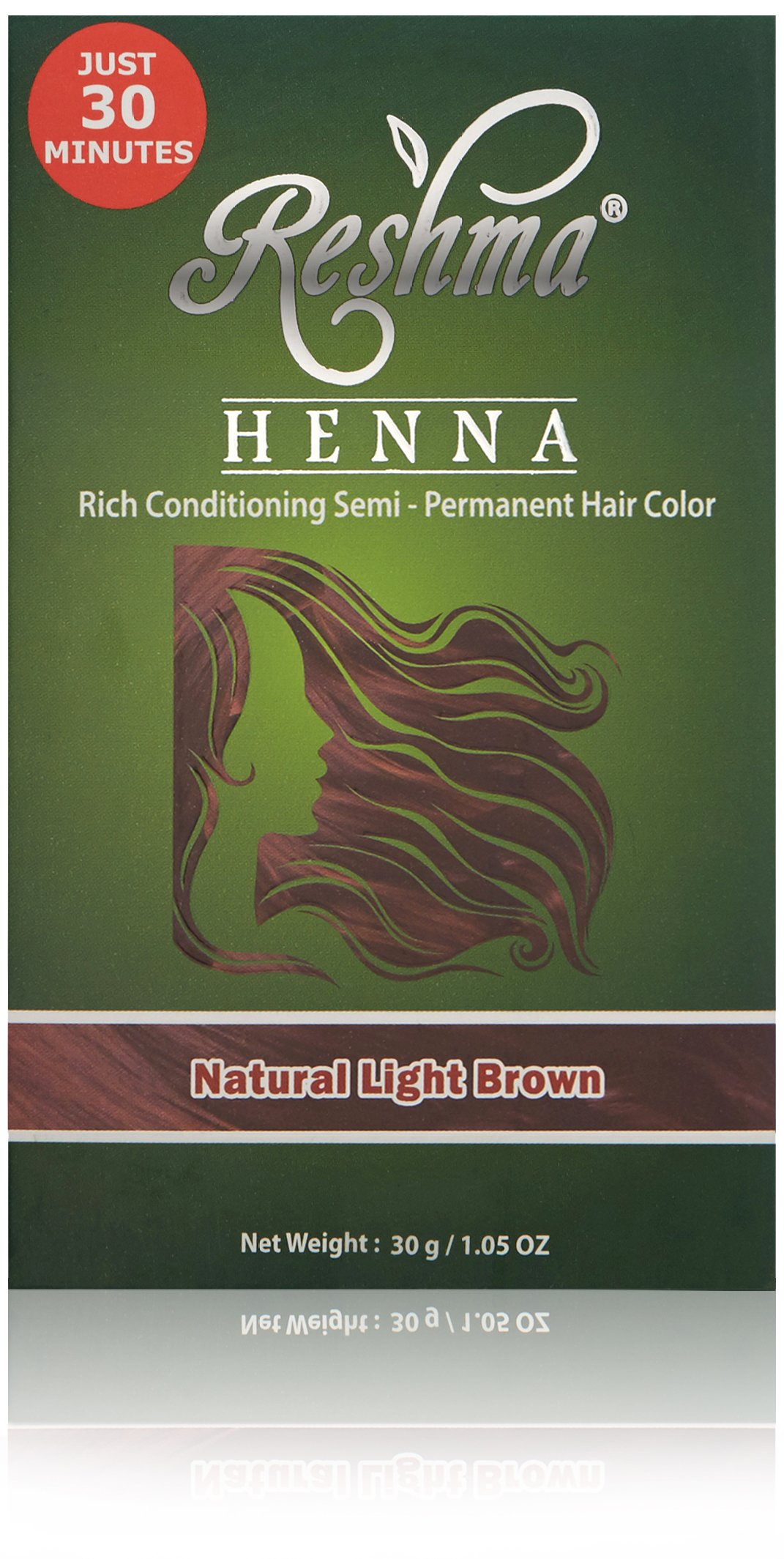 Amazon Reshma Beauty Natural Dark Brown 30 Minute Henna Hair