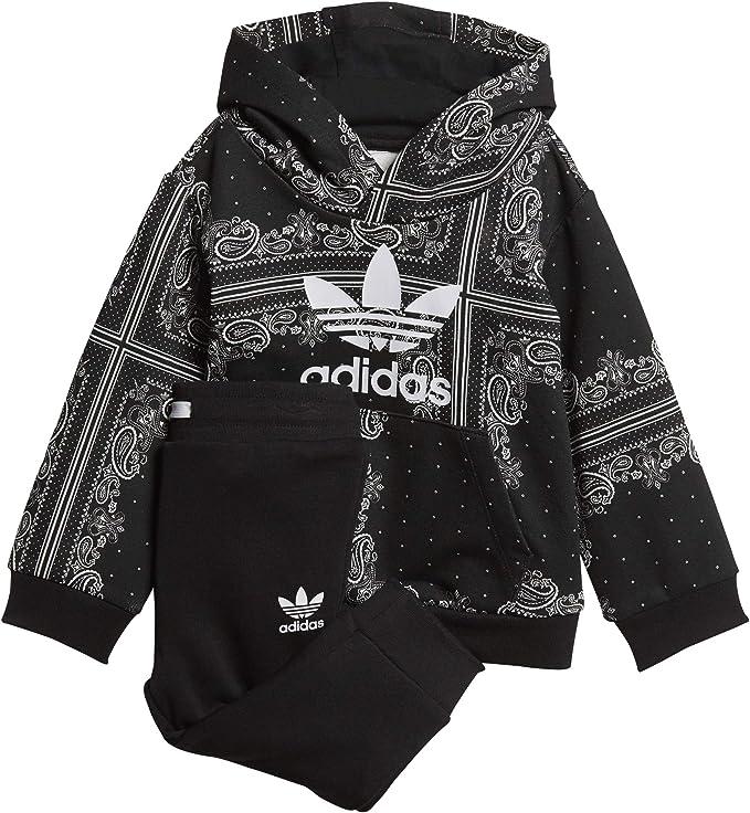 adidas DW3844 Chándal, Unisex bebé, Negro/Blanco, 62 (0/3 Meses ...