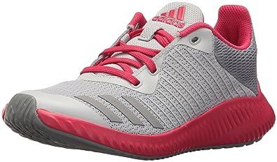 buy popular 3d38b b323a adidas Girls Fortarun K Running Shoe, TwoGrey ThreeEnergy Pink,