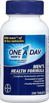 One A Day Men's Multivitamin 200-Tablet Bottle