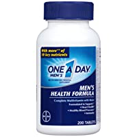 One A Day Multivitamin, Men's Health Formula , 200 Tablet Bottle