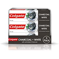 Colgate Natural Extracts Activated Charcoal + White Mint Toothpaste 3 x 75ml Multipack
