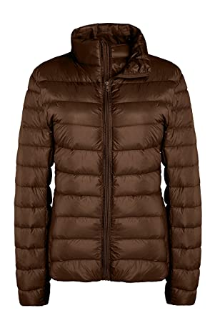 18b1b164df1 ZSHOW Women s Outwear Down Coat Lightweight Packable Pillow Down Jackets