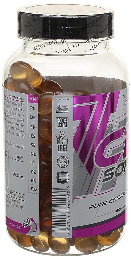 Trec Nutrition CLA Softgel 200 cápsulas: Amazon.es: Salud y ...
