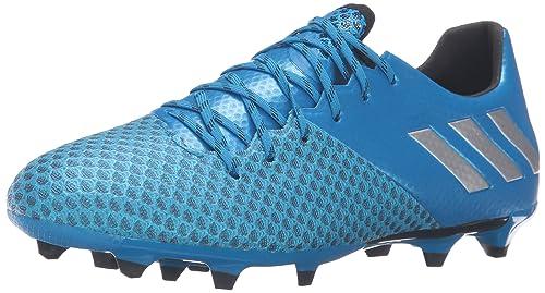 new concept 6b357 6fa53 adidas Men s Messi 16.2 fg Soccer Shoe, Shock Blue Matte Silver Black, 7