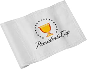"""KINGTOP Miniature Golf Flags, Double-Side Augusta National 