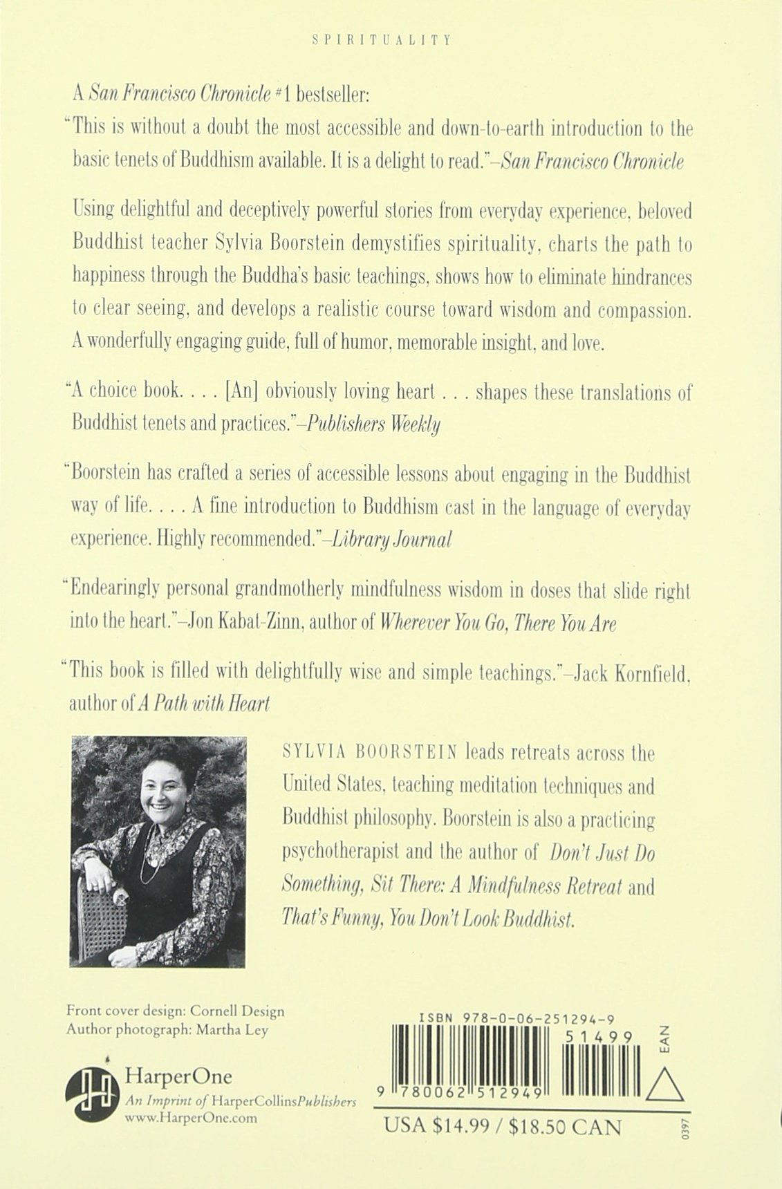 It's Easier Than You Think: The Buddhist Way To Happiness: Sylvia  Boorstein: 0201562512943: Amazon: Books