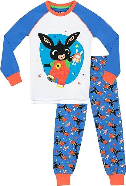Bing - Pijama para Niños Ajuste Ceñido: Amazon.es: Ropa y accesorios
