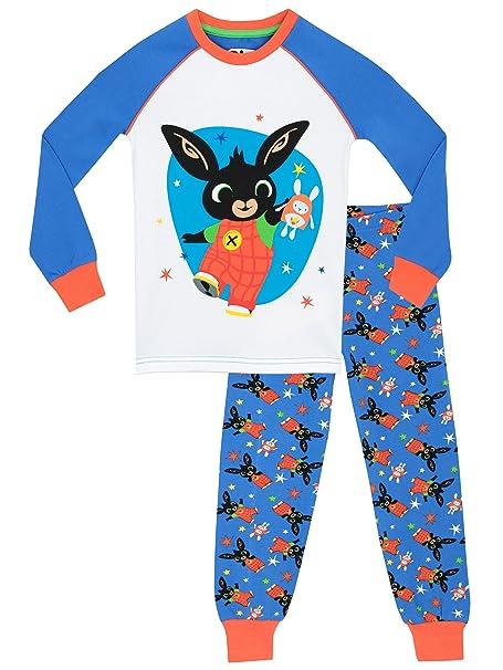 Bing - Pijama para Niños - Bing - Ajuste Ceñido - 18 - 24 Meses